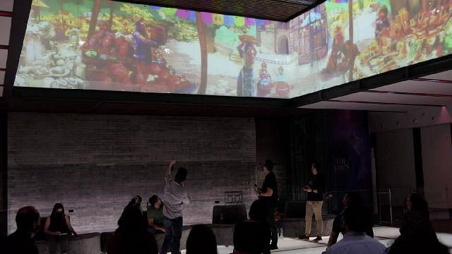 """Ofrecen masterclass """"El mapping como elemento narrativo en el espectáculo  Tzintzun"""""""