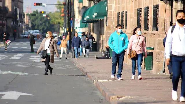 Alza de contagios pone a Michoacán en semáforo amarillo por riesgo epidémico