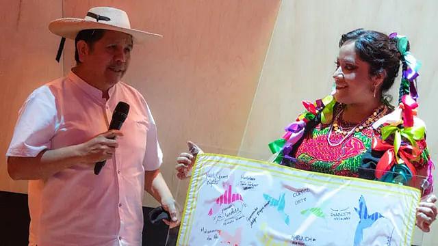 Reconoce Secum al maestro michoacano Ismael García Marcelino