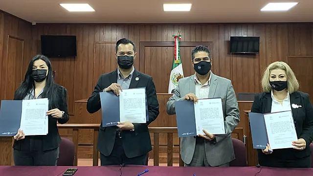 Universidad Vizcaya de las Américas y Hotel Mansión Solís firman convenio