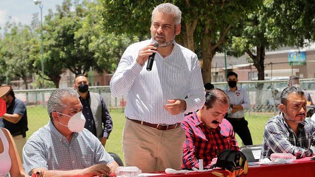Imposible que ganaran los corruptos en Michoacán, están moralmente derrotados: Bedolla