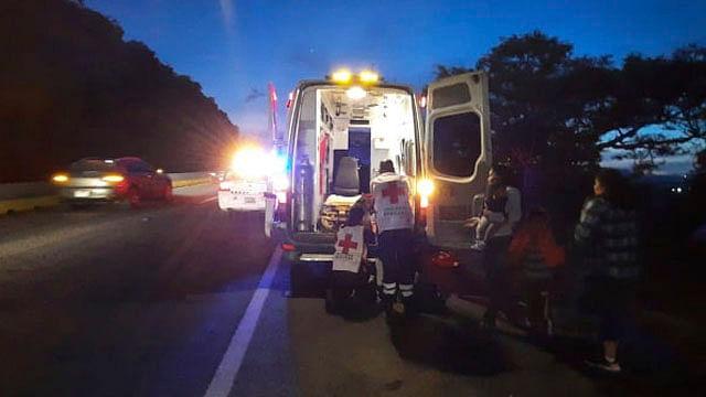 Confirman menor hospitalizado por choque en la salida a Pátzcuaro