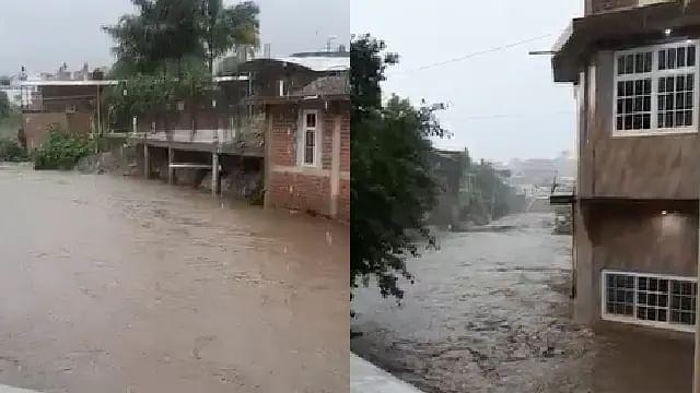 """En Michoacán, ocho municipios con afectaciones por el huracán """"NORA"""""""