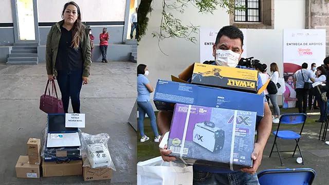 Apoyos de Vende Más llegan a microempresas de 60 municipios michoacanos