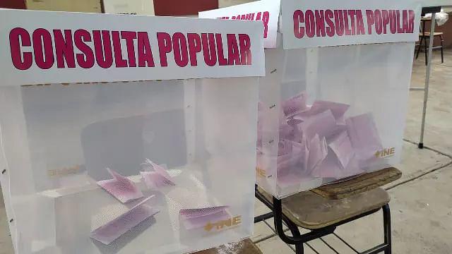 INE confirma participación de sólo 7.11% en la Consulta Popular