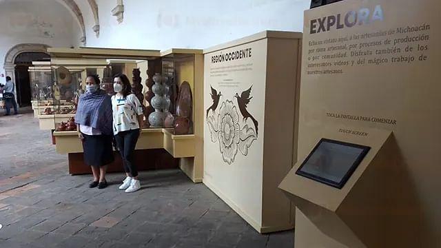 Renuevan imagen del Museo Michoacano de las Artesanías de Morelia