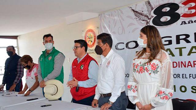Celebra CNC Michoacán Consejo Estatal Extraordinario