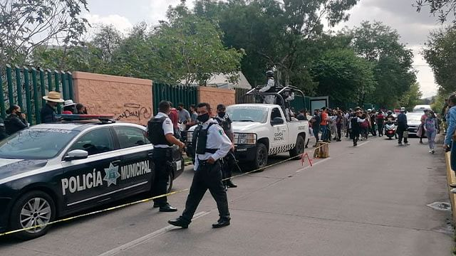 Policía Morelia realiza operativos en módulos de vacunación