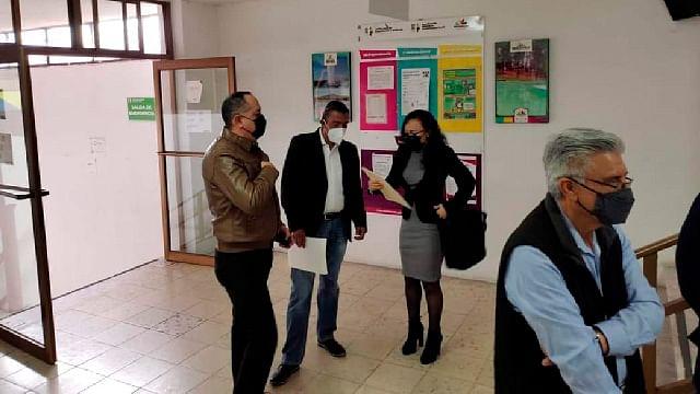 Sindicatos de UMSNH realizan audiencia por titularidad del contrato colectivo