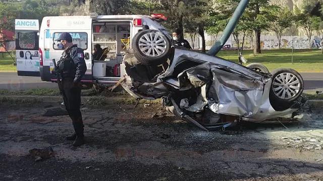 Morelia: motociclistas y peatones, casi la mitad de fallecidos en accidentes de tránsito