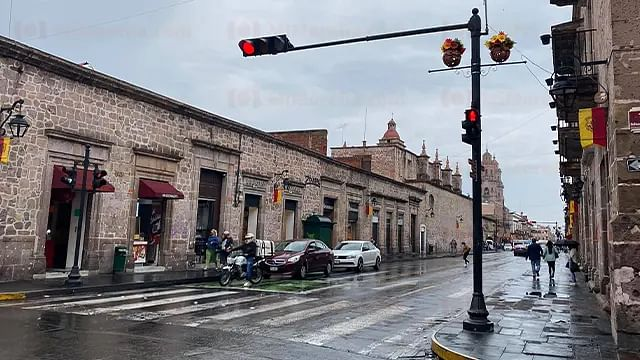 Seguirá mojada la cantera rosa; prevén lluvias a lo largo del día en Morelia