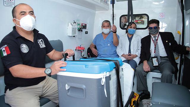 Médicos el IMSS trasplantan corazón obtenido de donación multiorgánica