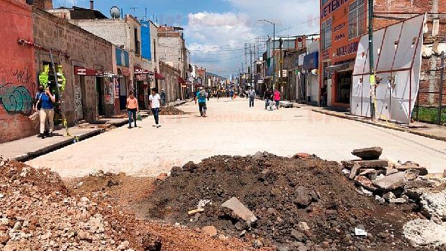 En Morelia: avance del 65 por ciento obra de avenida Lázaro Cárdenas