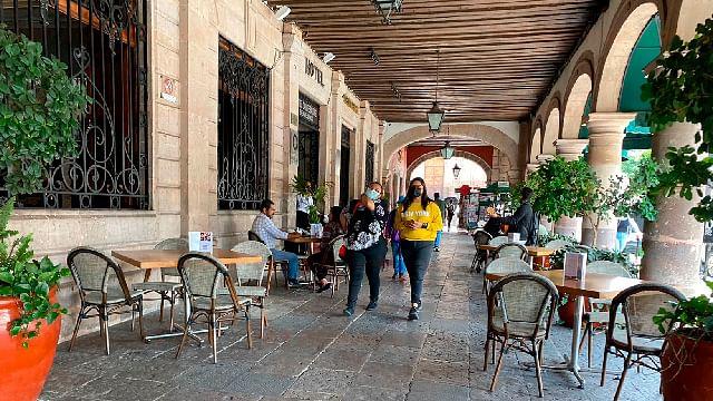 De no respetar medidas restrictivas, se cerrarían negocios en Morelia