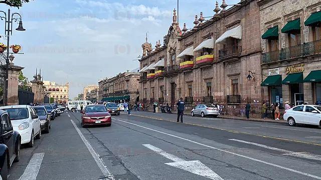 Inicia concentración de la CNTE en Morelia; caravana motorizada partirá al aeropuerto