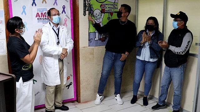 Paciente del IMSS Veracruz vence leucemia con más de 150 quimioterapias