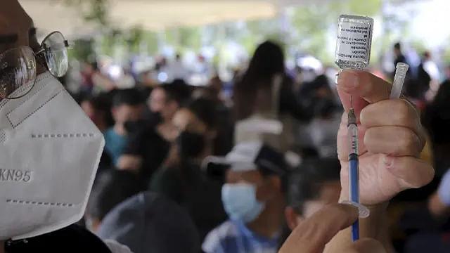 Este lunes, vacunación a jóvenes de 18 a 29 años en 5 municipios de Michoacán