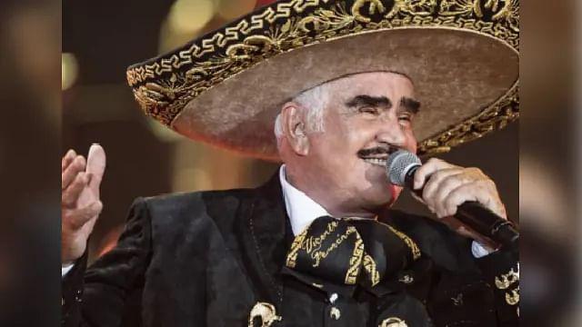 Confirman que Vicente Fernández tiene síndrome de Guillain-Barré