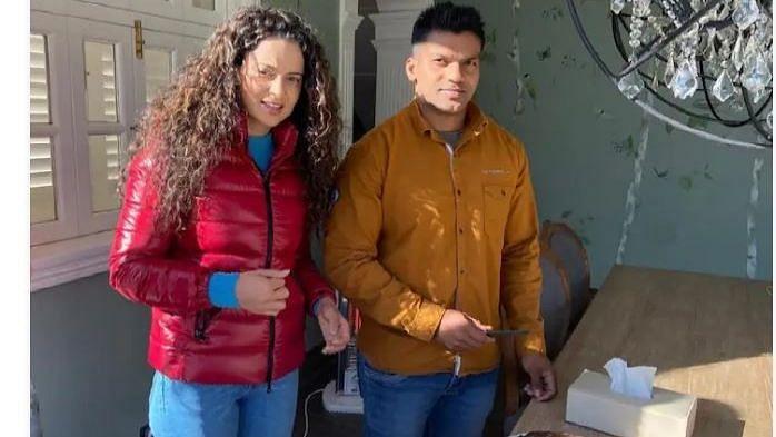 Kangana Ranaut  च्या बॉडीगार्डला अत्याचार आणि फसवणुकीच्या प्रकरणात अटक