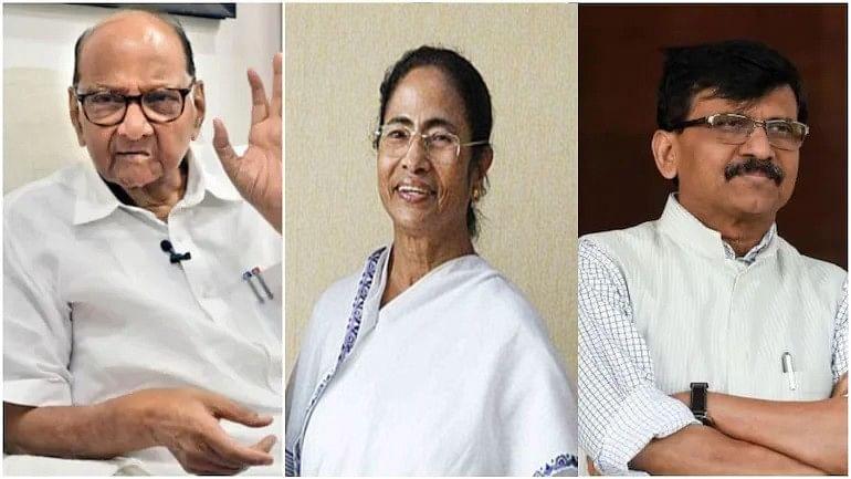 Sharad Pawar हे विरोधकांचे भीष्म पितामह, ममता बॅनर्जी राष्ट्रीय आकर्षण-संजय राऊत