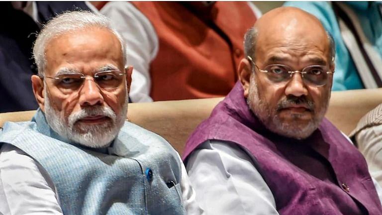 पंतप्रधान नरेंद्र मोदी आणि अमित शाह