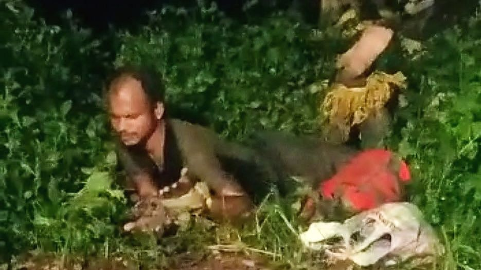 अपहरण करुन मामाला जंगलात फेकलं, भाच्याचं विचित्र कृत्य