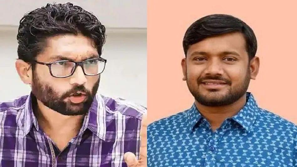 Kanhaiyya Kumar and Jignesh Mewani joined the Congress