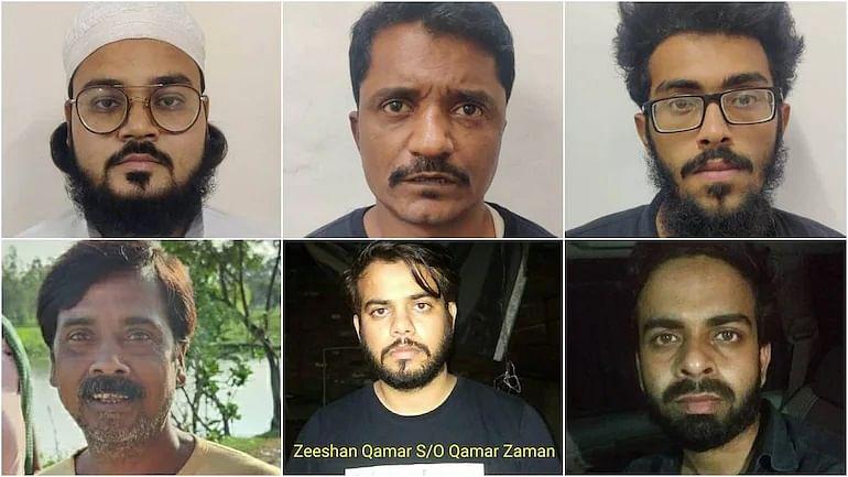 कुणी MBA तर कुणी शेतकरी, जाणून घ्या कोण आहेत दिल्ली पोलिसांनी अटक केलेले सहा संशयित दहशतवादी?