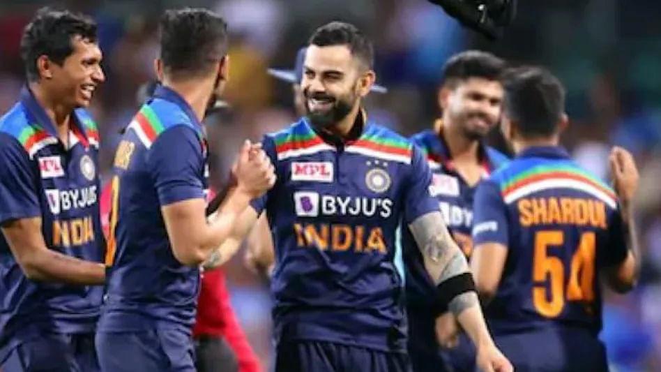 T-20 World Cup : भारतीय संघाच्या नव्या जर्सीचा लूक पाहिलात का? BCCI ने शेअर केला फोटो