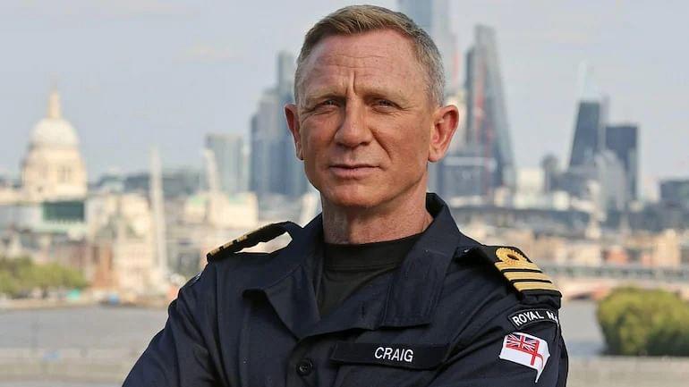 James Bond डॅनियल क्रेगची रॉयल नेव्ही कमांडर म्हणून नियुक्ती, डॅनियल म्हणाला...