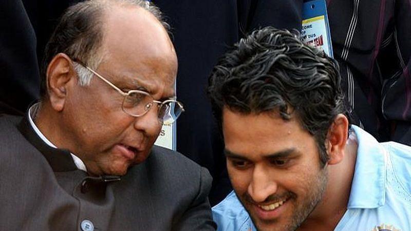 Dhoni ला कर्णधार करण्यावरुन माझ्या मनात शंका होती, पवारांनी सांगितला भारताच्या कॅप्टन निवडीचा किस्सा