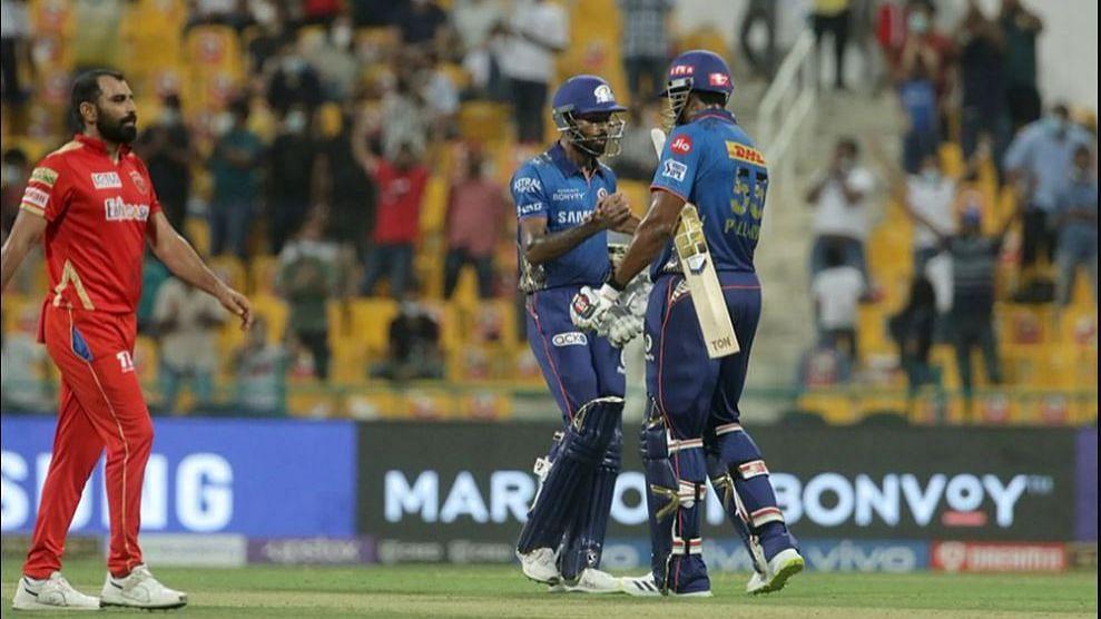 IPL 2021 : सलग तीन पराभवानंतर मुंबई इंडियन्सने चाखली विजयाची चव, पंजाबचा ६ विकेटने पराभव