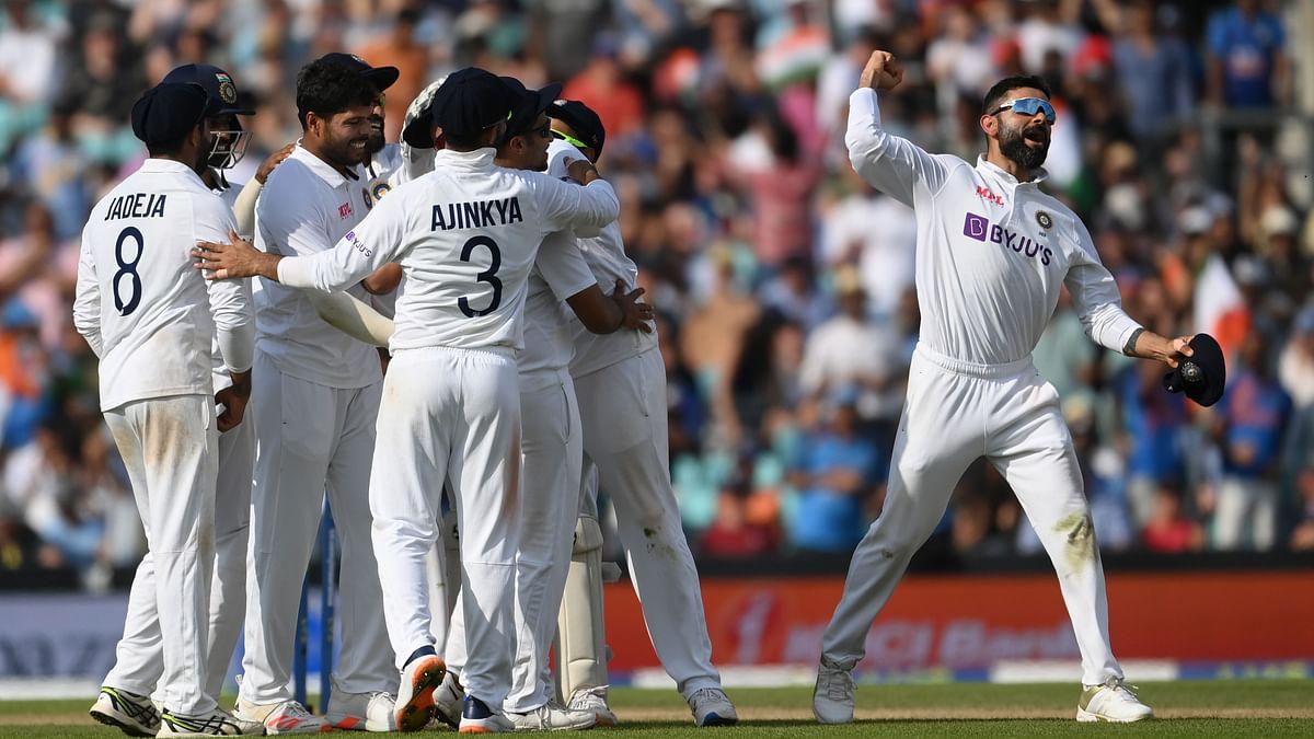 Ind vs Eng : तब्बल ५० वर्षांनी टीम इंडियाने ओव्हलचं मैदान मारलं, इंग्लंडवर १५७ धावांनी मात