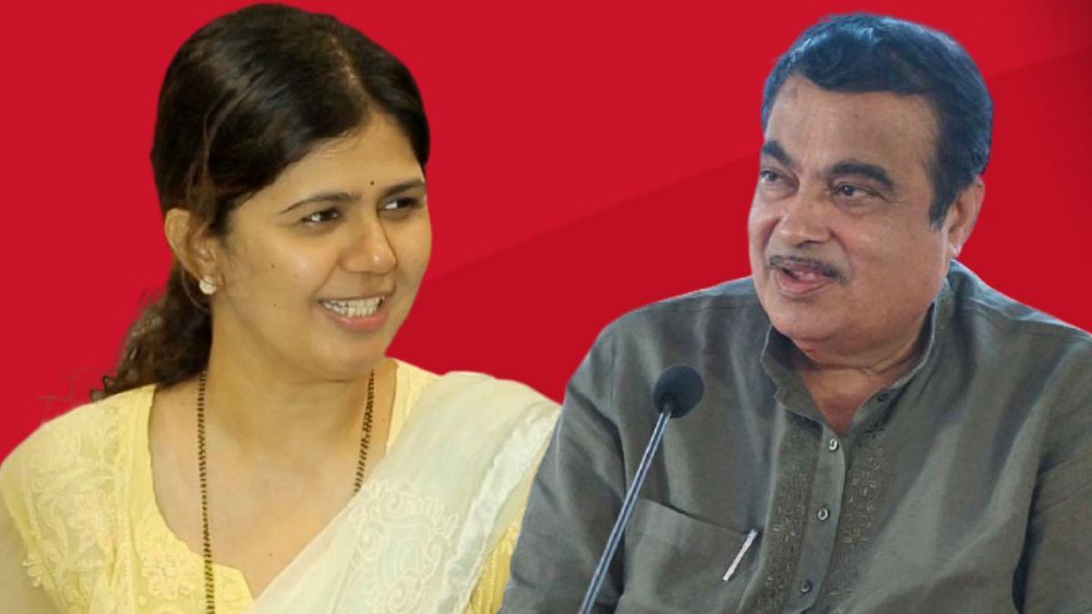 Pankaja Munde: 'काम पूर्ण होण्याआधीच रस्त्याला भेगा', पंकजा मुंडेंची थेट गडकरींकडे तक्रार
