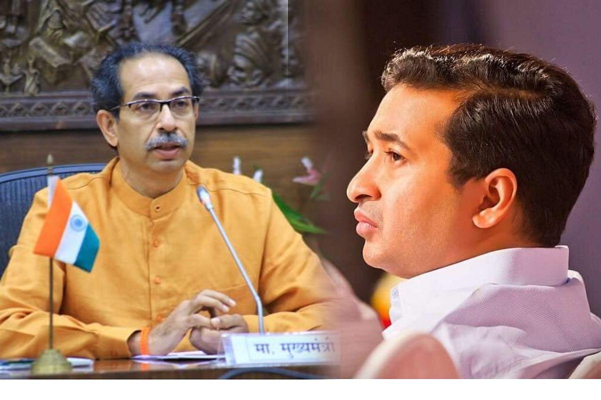 'बंद करून दाखवले'चंही श्रेय घेणार का?; नितेश राणेंचं मुख्यमंत्री ठाकरेंना पत्र