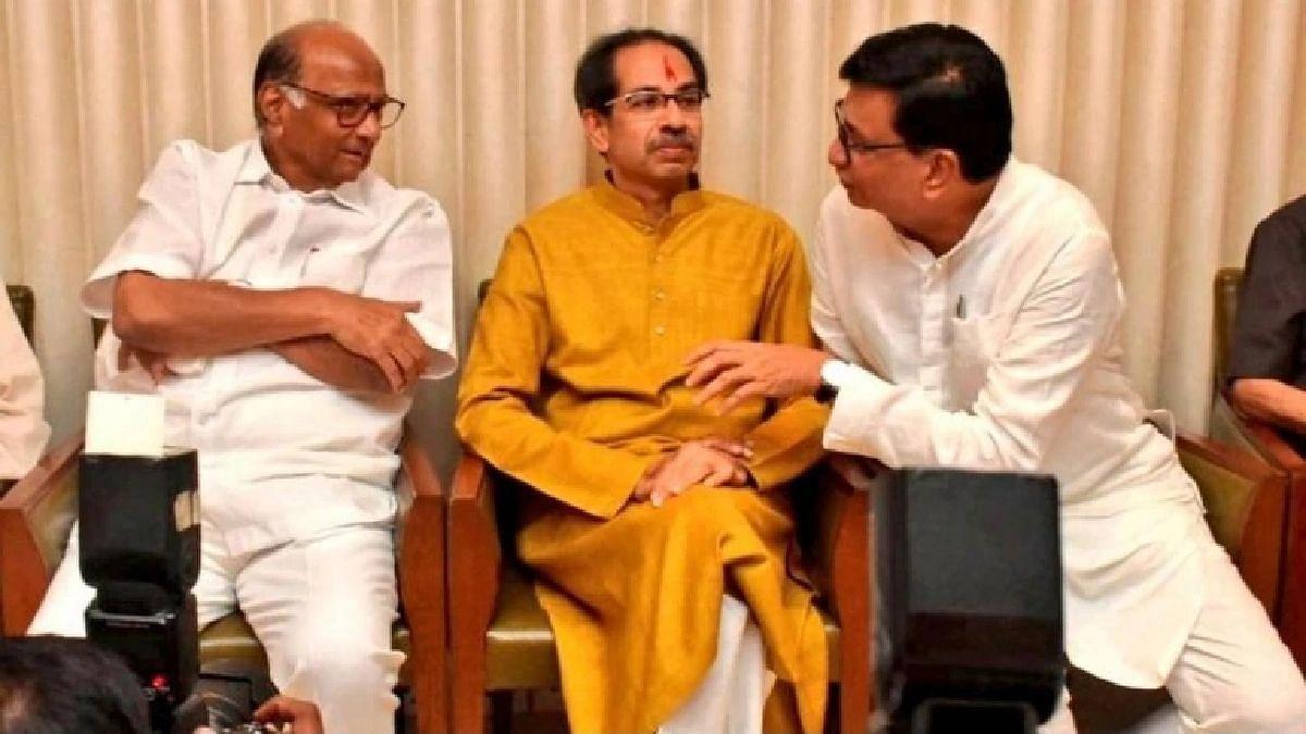 'ठाकरे-पवार-थोरातां'ना महाराष्ट्रातही हा उपक्रम राबवावा लागेल; राऊतांचा आघाडी सरकारला सल्ला