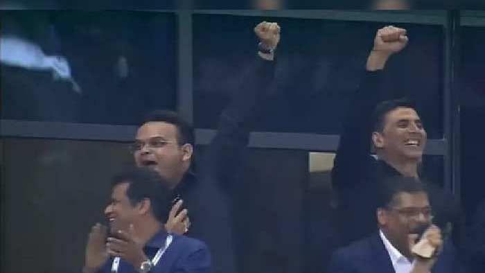 T20 WC, Ind Vs Pak: ...अन् BCCI चे सचिव जय शाह उठून नाचायला लागले, Video व्हायरल