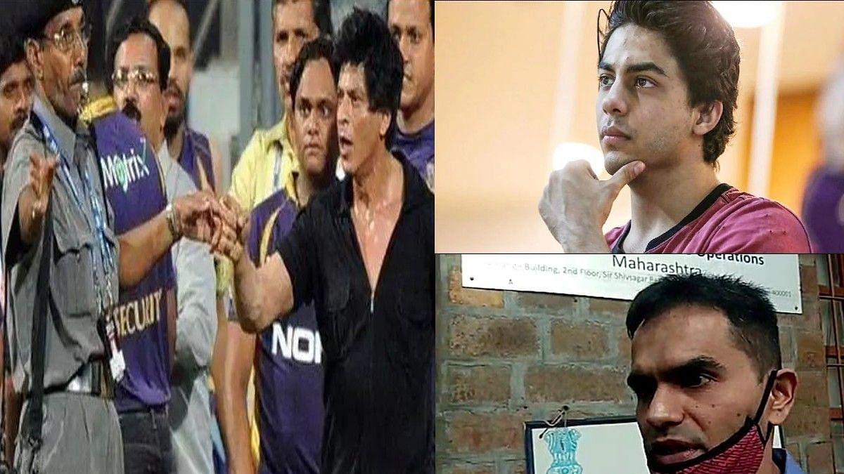 आधी शाहरुख नंतर आर्यन, 'वानखेडे' नावाचा पिता-पुत्रांना जबर दणका