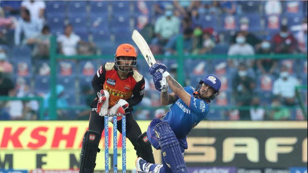 IPL 2021 : अबुधाबीत इशान किशनचं वादळ, महत्वाच्या सामन्यात विक्रमी इनिंग