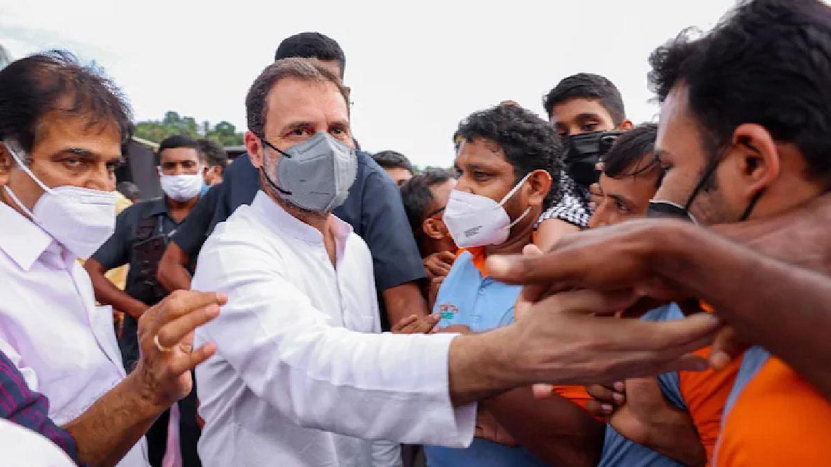 काँग्रेसचे नेते राहुल गांधी.