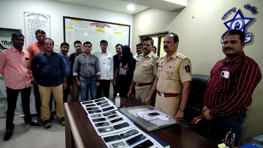 तब्बल 31 मोबाइलसह चोरट्याला पोलिसांनी केली अटक