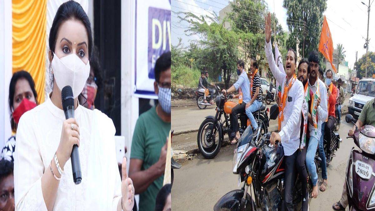 वसुली सुरु आहे की बंद? Maharashtra Bandh वरुन अमृता फडणवीसांचा राज्य सरकारला टोला