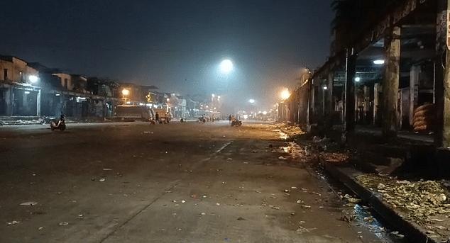 नवी मुंबईतील APMC मार्केट पूर्णपणे बंद