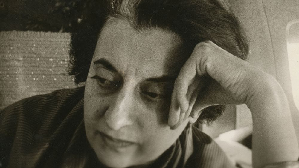 From the life of Indira Gandhi
