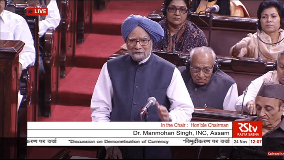 WATCH: Manmohan Singh—Monumental mismanagement of Demonetisation