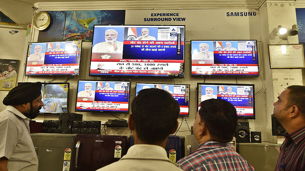 Prime Minister Narendra Modi announces scrapping of Rs 500 and Rs 1,000 notes  on November 8, 2016