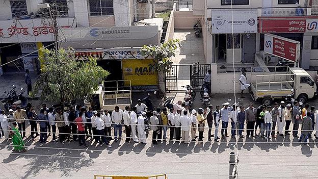 The cashless economy of Chikalthana