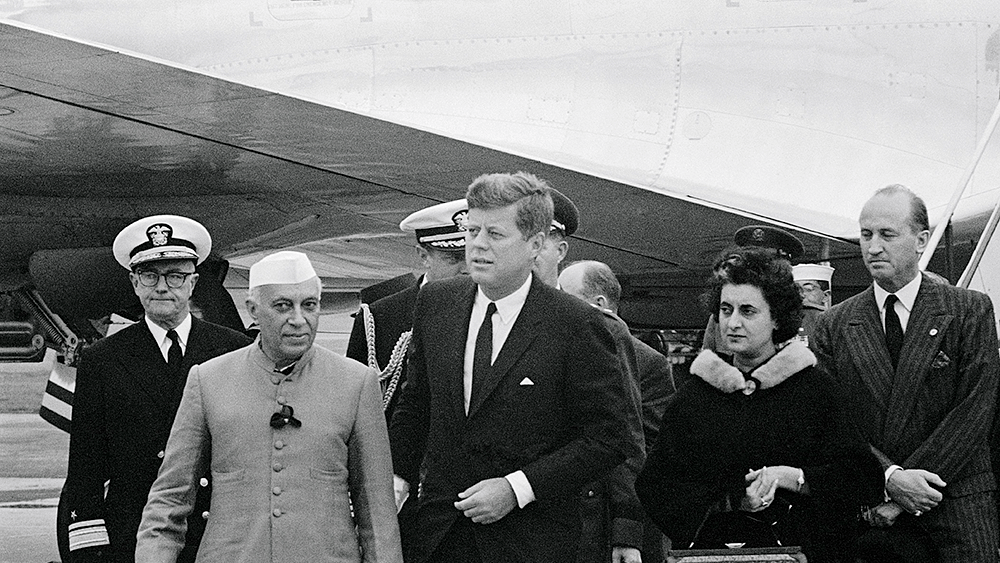 """WATCH: Jawaharlal Nehru—""""For us, peace is a passion."""""""