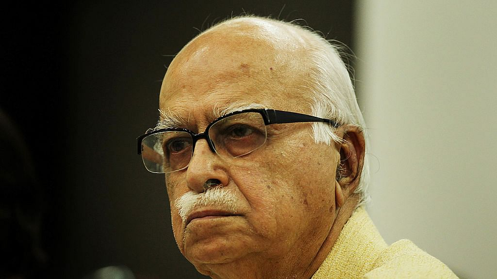 "An upset LK Advani ""feels like resigning"" over Parliament gridlock"