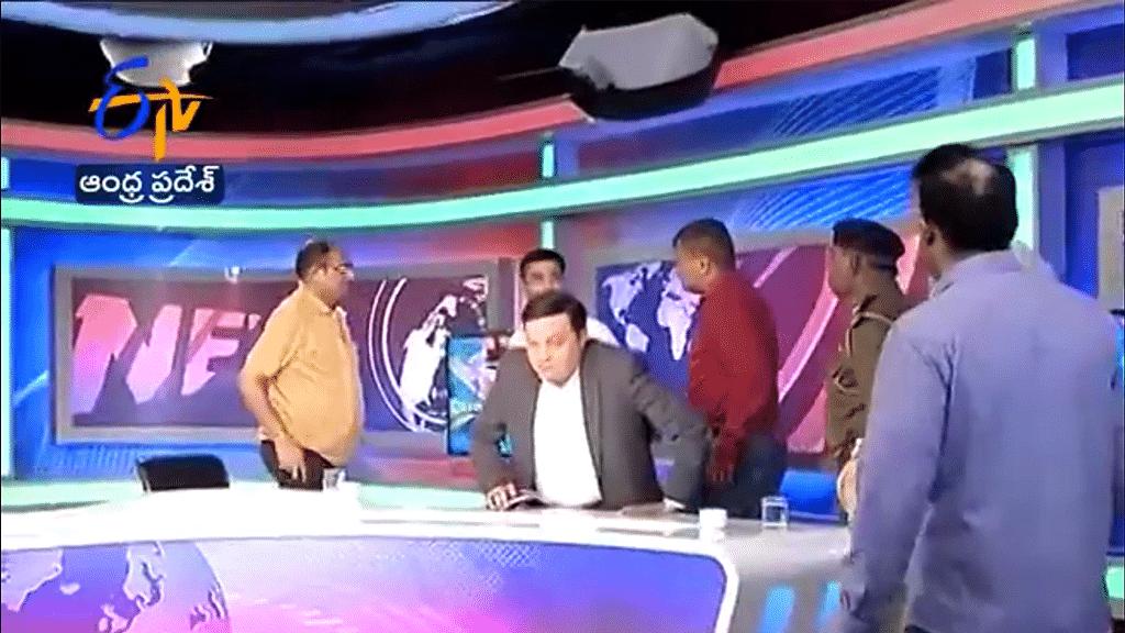 Gujarat: Mahesh Shah resurfaces in ETV studio; is detained